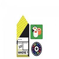 [해외]키플링 Sticker 세트 Sushi Mix Col SS20