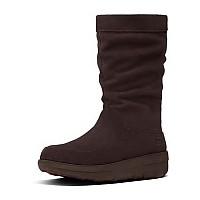 [해외]핏플랍 Loaff 슬라우치y Knee Boot Dark Brown