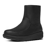 [해외]핏플랍 Loaff 숏y Zip Boot Black