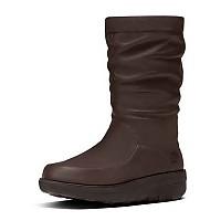 [해외]핏플랍 Loaff 슬라우치y Knee Boot Chocolate