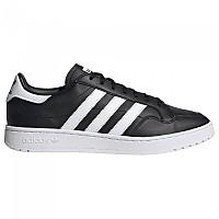 [해외]아디다스 오리지널 Team Court Core Black / Footwear White / Core Black