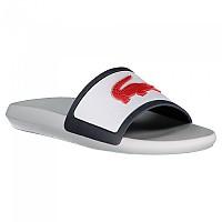 [해외]라코스테 Croco Rubber 스트랩 White / Navy / Red