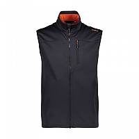 [해외]CMP Man Vest Anthracite / Red Orange