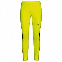 [해외]오들로 제로weight 타이츠 Safety Yellow With Print