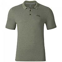 [해외]오들로 Trim Polo 셔츠 S/S Four Leaf Clover Melange