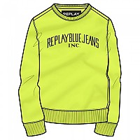 [해외]리플레이 M3086 스웨트shirt Cedar Yellow