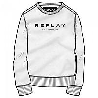 [해외]리플레이 M3093 스웨트shirt White