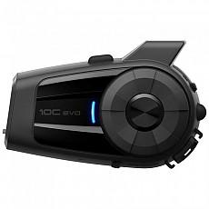 [해외]SENA 10C EVO 모터사이클 블루투스 Camera And Communication System Black