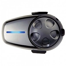 [해외]SENA SMH10 블루투스 Headset 앤드 Intercom with Universal 마이크로폰 Kit 듀얼 팩