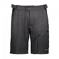 [해외]CMP Man 프리bike Bermuda 위드 Inner 메쉬 Underwear Nero