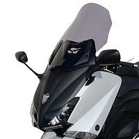 [해외]BULLSTER Yamaha T-맥스 530 하이 Protection 윈드shield Smoked Grey