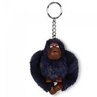 [해외]키플링 Monkey Clip M Key Ring 10 Units True Blue Tonal