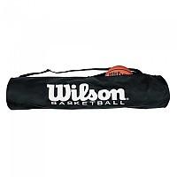 [해외]윌슨 Basketball 튜브 Black / White