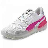 [해외]푸마 Clyde Hardwood Puma White / Pink Glo