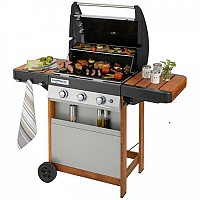 [해외]CAMPINGAZ Gas BBQ 3 Series Classic Woody LX 4136072680