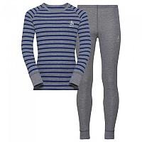 [해외]오들로 세트 Warm Kids Grey Melange / Energy Blue / Stripes