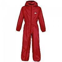 [해외]TRESPASS 버튼 Babies Rain Suit Babies Signal Red