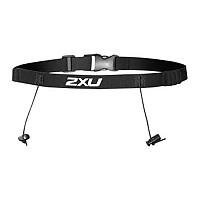 [해외]2XU Race Belt 위드 Loops Black / Black