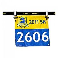 [해외]NATHAN Race Number Belt 2.0 1135936791 Black