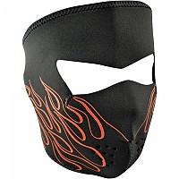 [해외]ZAN 헤드기어 Neoprene Full Face Mask 9137336839 Orange Flame