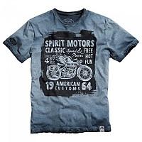 [해외]SPIRIT MOTORS T-셔츠 6.0 Black