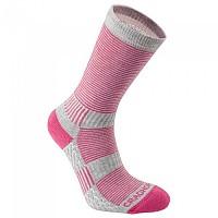 [해외]크래그호퍼 히트 Regulating Travel Sock Pink - Dove Grey