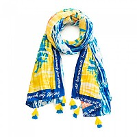[해외]데시구알 Tye Hawaii Rectangle Foulard Navy