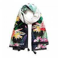 [해외]데시구알 Jungle Rectangle Foulard White Swam