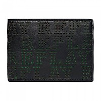 [해외]리플레이 FM5183 Wallet Black-Fluo Green