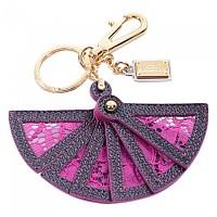 [해외]돌체앤가바나 Plate 레이스 팬 Keyholder Dark Pink