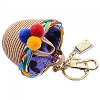 [해외]돌체앤가바나 Women Basket Keyholder Beige