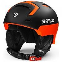 [해외]브리코 Stromboli Matt Black / Orange Fluo