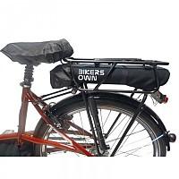 [해외]BIKERS OWN 케이스4 Rain Carrier Battery Cover For Bosch Powerpack 300/400 Black