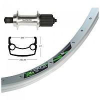 [해외]EXAL XL25 QR Shimano TX800 8-10s Rear Silver