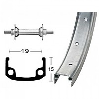 [해외]ROLAND Aluminium 355-19 8.5 mm Front Silver