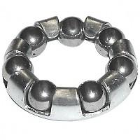 [해외]MIJNEN PIEPER Exterior Sphere Ring Front 20 mm 2 Units Silver