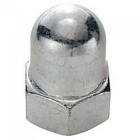 [해외]SCHWARZ M9 Cap Nut For Front Wheel 10 Units Silver