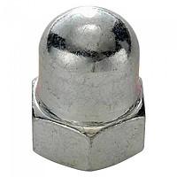 [해외]SCHWARZ M9.5 Cap Nut For Rear Wheel 10 Units Silver