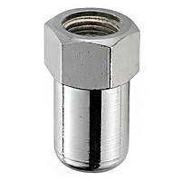 [해외]SCHWARZ M10.5 Cap Nut For Rear Wheel 10 Units Silver