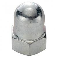 [해외]SCHWARZ M10 Cap Nut For Rear Wheel 10 Units Silver