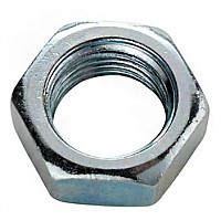[해외]SCHWARZ M10.5 Open Hexagonal Nut Front Wheel 10 Units Silver