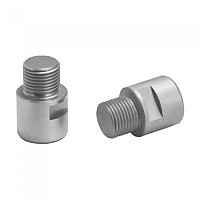 [해외]ERGOTEC Pedal Axle Extension Kit Silver