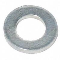 [해외]SCHWARZ Nirosta 워시er Ring 8 mm 10 Units Silver