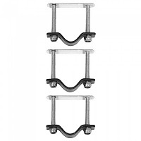 [해외]BASIL Crate Mounting 세트 Silver