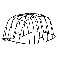 [해외]BASIL 스틸 Protector For Buddy Basket Black