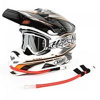 [해외]USWE Helmet 핸즈 Leatt Hydrobag Kit Red