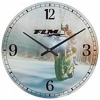 [해외]FLM Wall Clock 스포츠 Multicolour