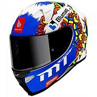 [해외]MT 헬멧 Revenge 2 Moto 3 Matt Pearl White