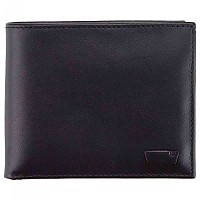 [해외]리바이스 FOOTWEAR Inlay Bifold 클린 Finish Regular Black