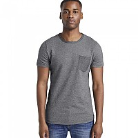 [해외]TOM TAILOR Structured T-셔츠 Black Non-Solid